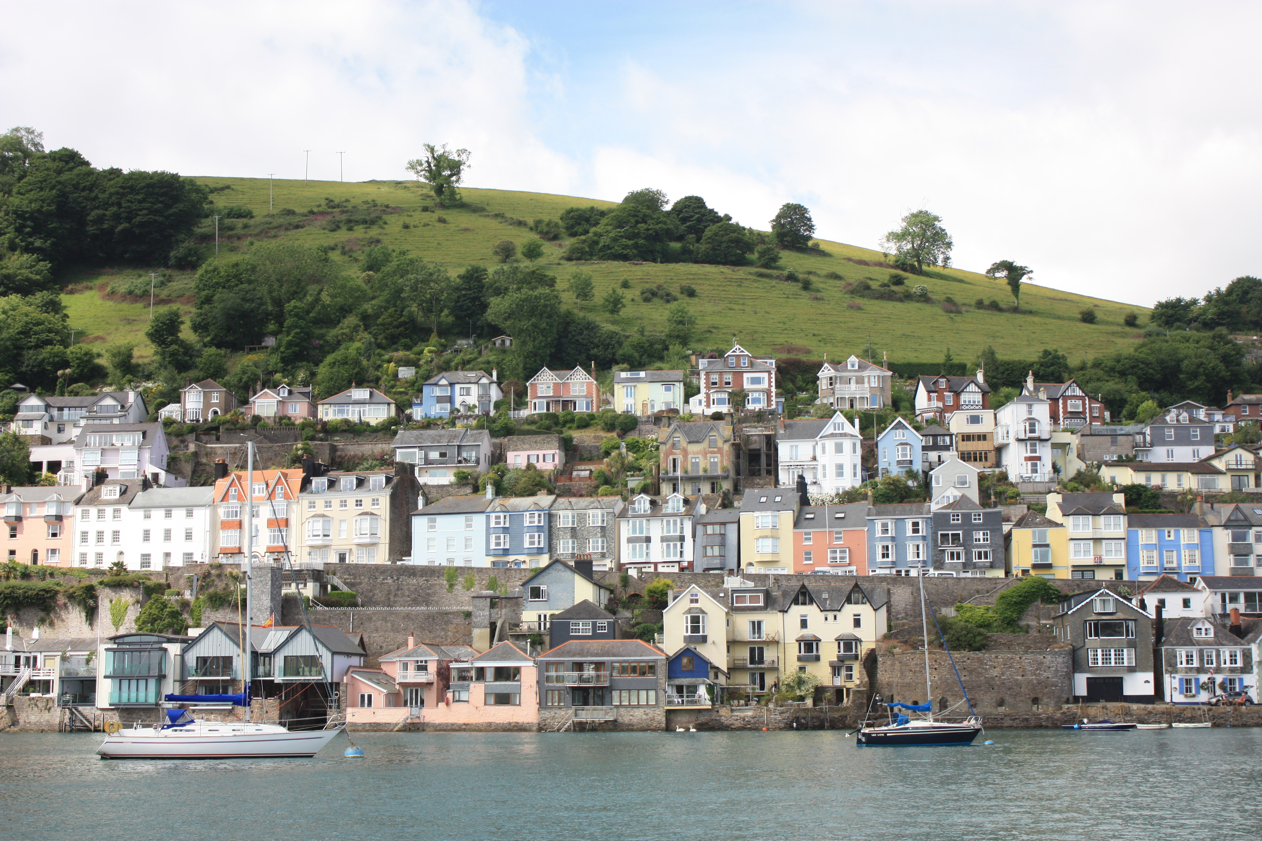 View from the lower ferry to Dartmouth