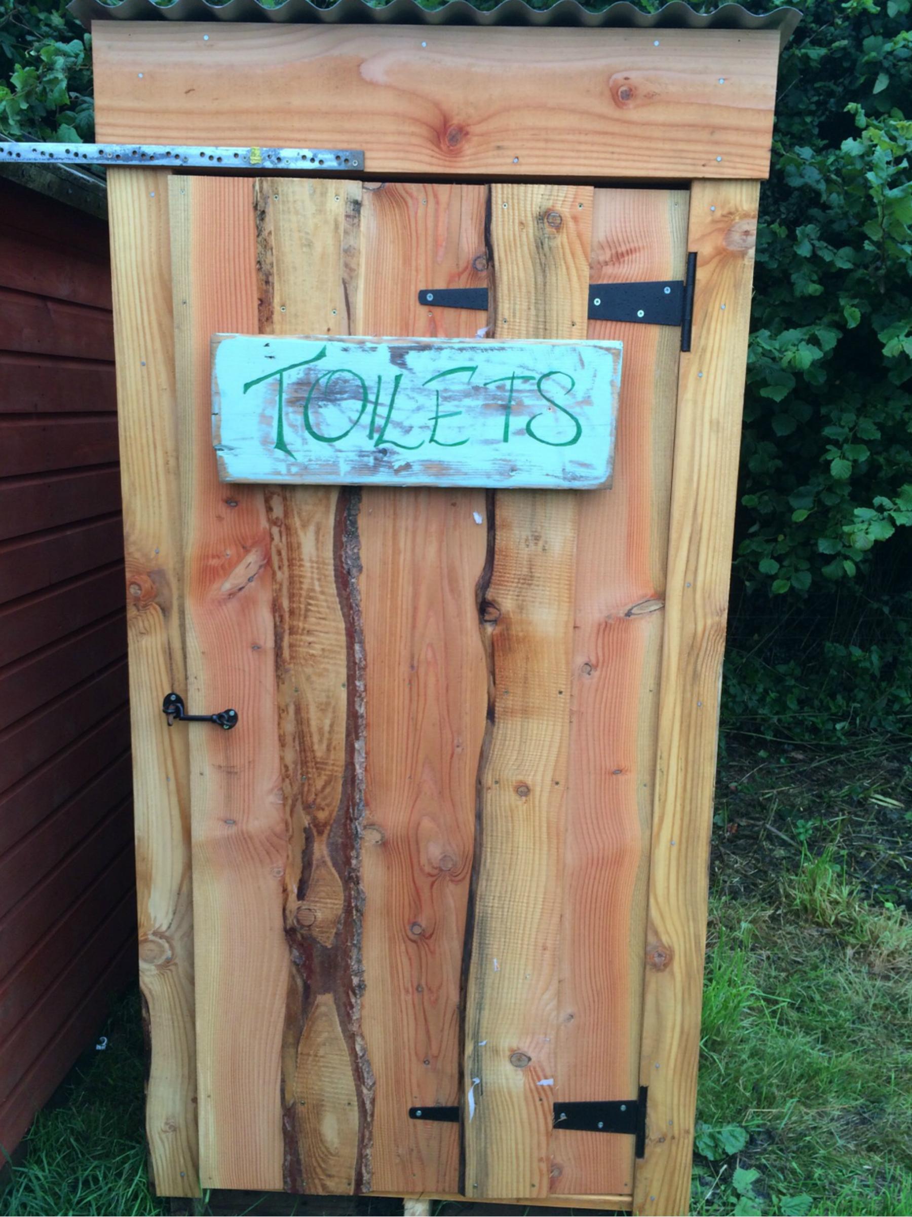 Compost Toilet at Wilton Farm