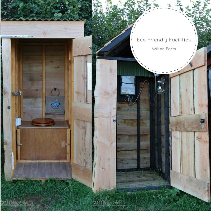 Wilton Farm Campsite eco friendly facilities perfect for wild camping